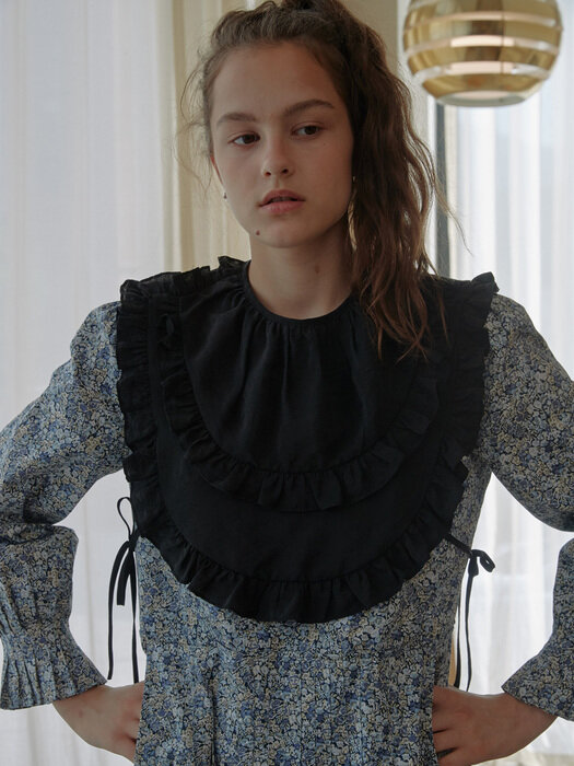 Half Moon Ruffle Collar
