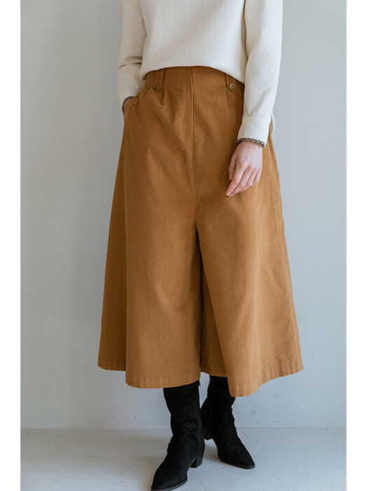 JOSEPHINE CULOTTE PANTS LIGHT BROWN