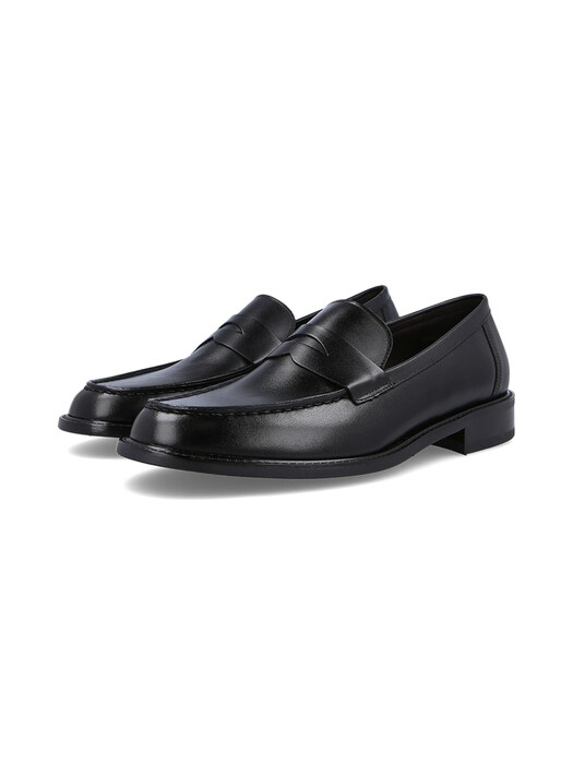 AUGUST_PENNY LOAFER(BLACK)