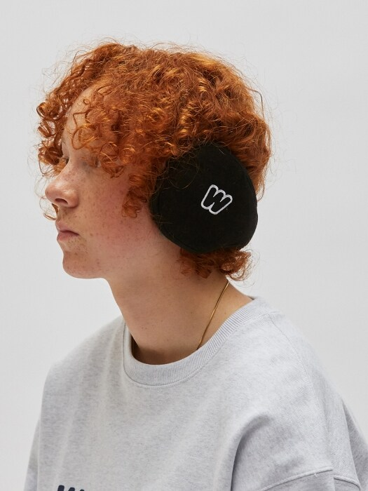 WKNDRS EAR MUFFS (BLACK)