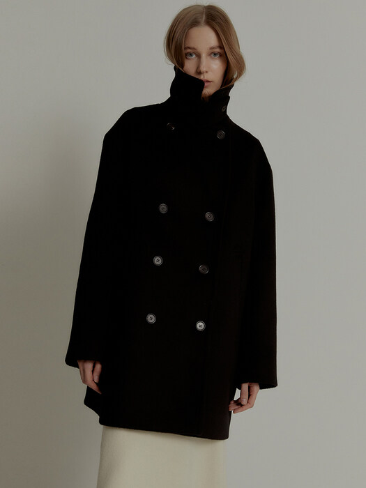 Woody Woman Pea Coat