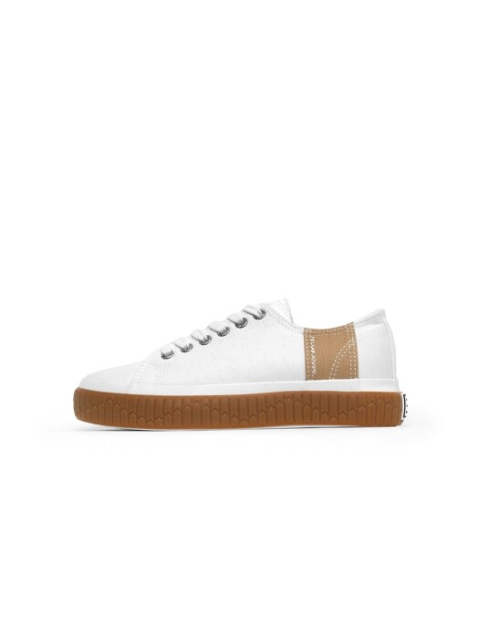 [Fellas Studio] Silhouette Lo White / Gum WOMEN