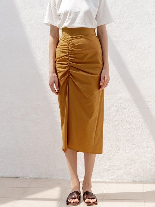 Front Shirring Skirts