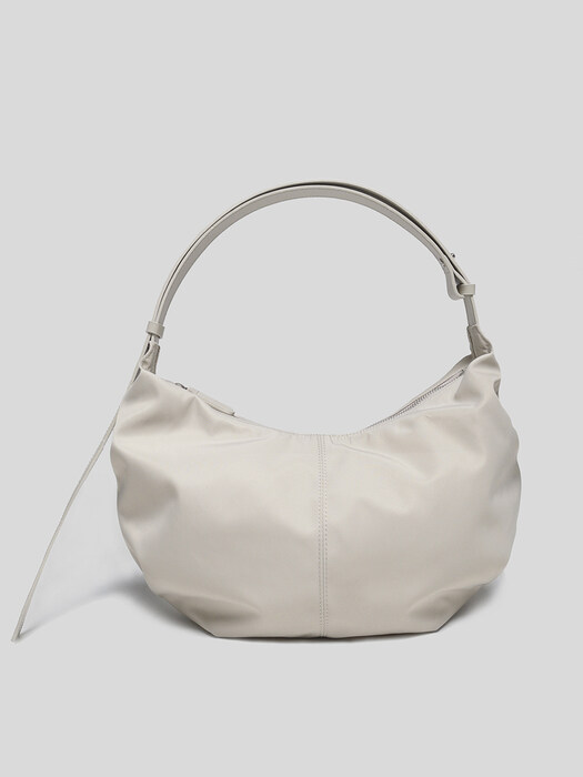[단독]HT nylon shoulder bag (Salt)
