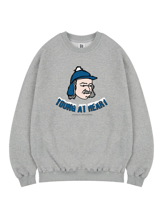 Papas Winter sweat gray