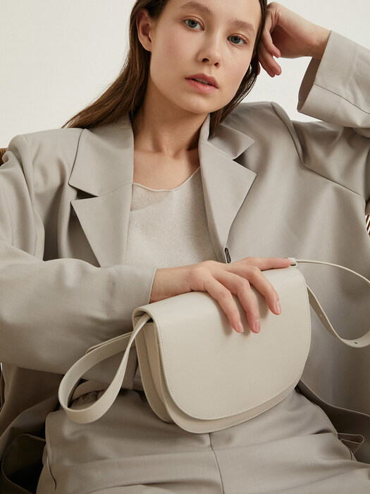 elba mini bag - Pale Stone