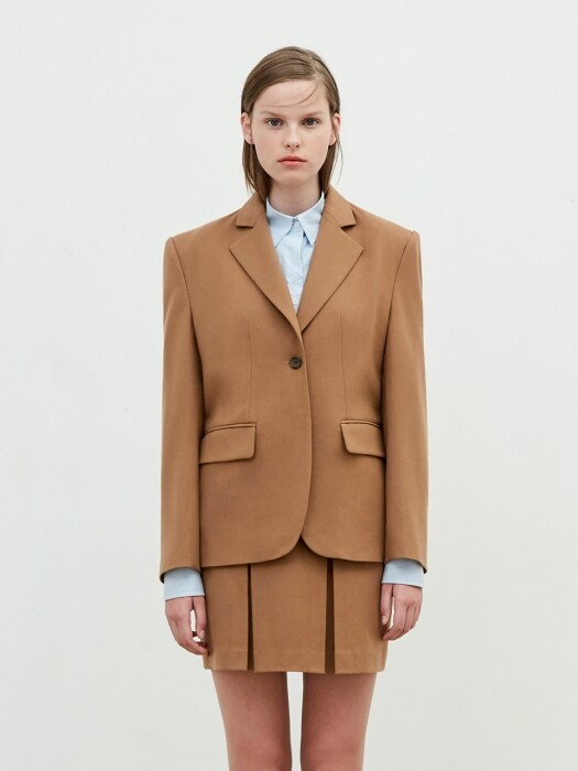 Tailored Jacket [Dark Beige]