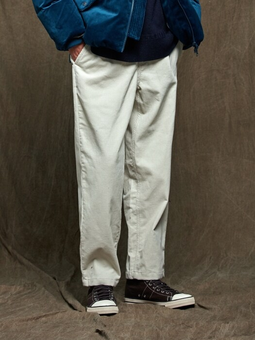 HAWORTH CORDUROY PANTS _ IVORY
