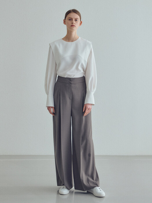 20SN wide pants [K/GY]