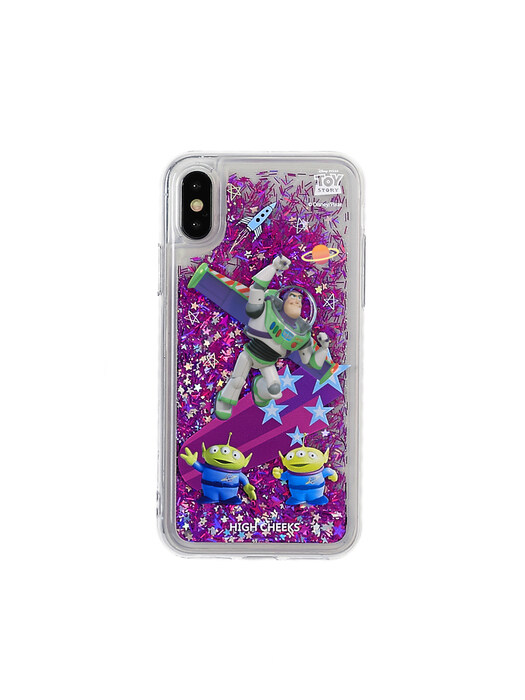 Toy Story Buzz & Aliens Gitter Phonecase
