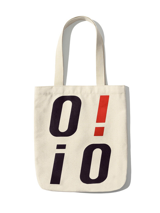 [ORIGINAL PACK] BIG LOGO ECO BAG [IVORY]