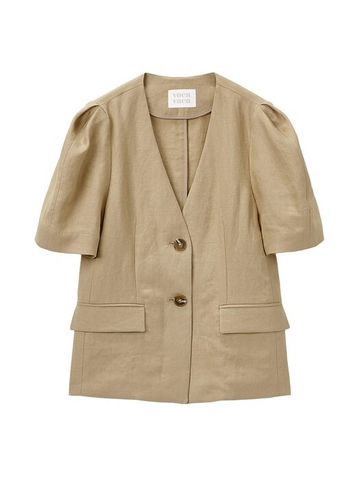 Lisa Linen Jacket_3Color