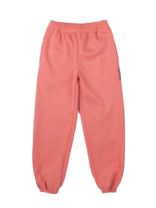 COZY SWEAT PANTS (LIVING CORAL)