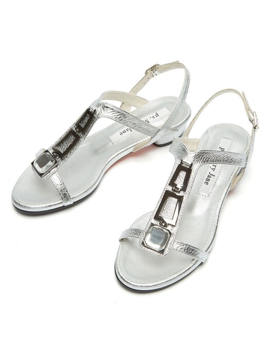 Jewelry sandal silver