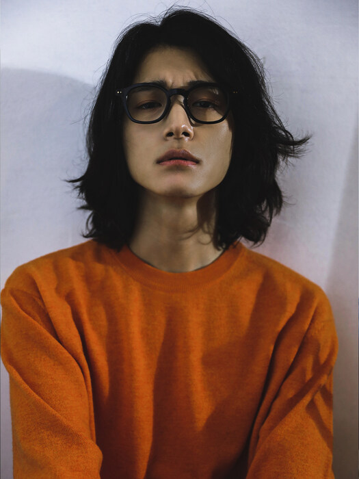 RAMIAN SEF Merino Wool Round Knit_Orange