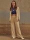 [Drama Easy] Summer Blazer + Wide-leg Trousers SET (4Colors)