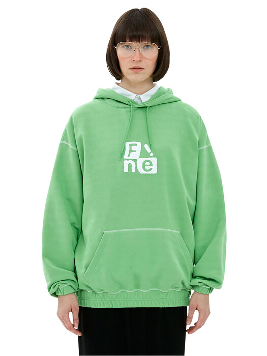 Windows Logo Bending Hoodie_Green
