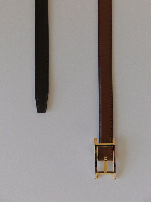 Reversible 'Classic H' leather belt