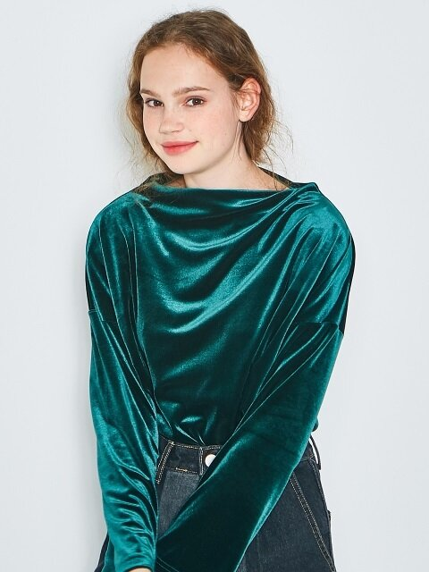 Velvet basic top [3colors]