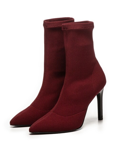 CHATEAU BURUNDY KILL RED ANKLE BOOT