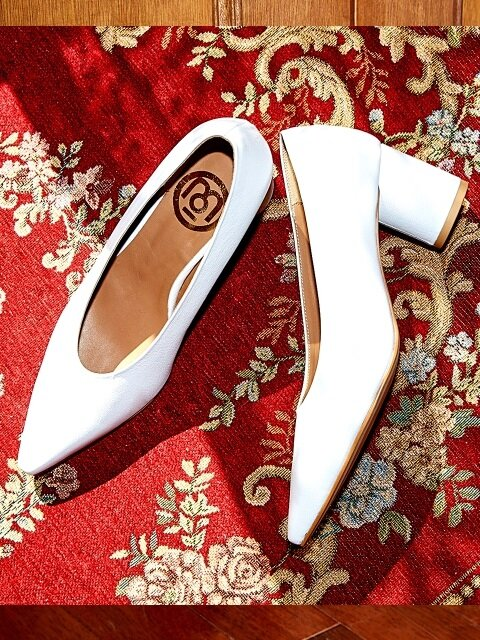 MoMo Basic Heel_White