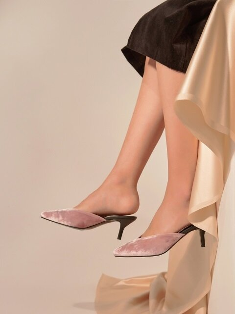 Color Mix Two-Tone Mule_MM046V_PK