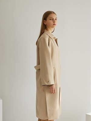 Trench outer+dress SET - beige