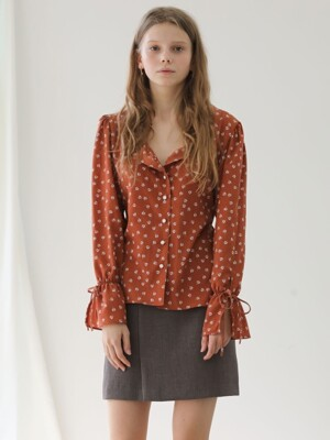 2.18 DREAMY BLOUSE_BROWN