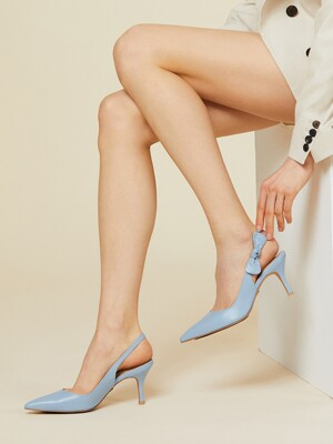 Ribbon Slingback_Sky Blue