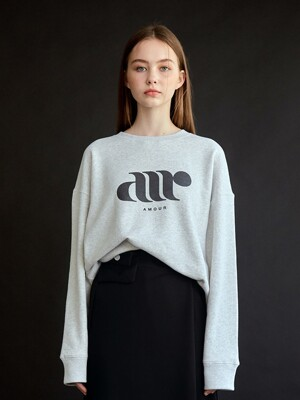 A SOFT SWEAT SHIRT_GREY
