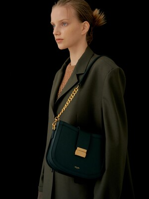 Brick bag (Deep green)