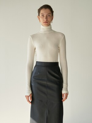 TTW WOOL BASIC TURTLENECK TOP 3COLOR