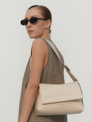 LOG FLAP BAG- Artificial Leather_4 colors