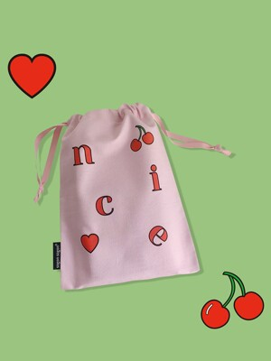 Nice cherry string pouch_m