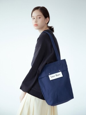 Sister Basic Canvas Bag (blue)