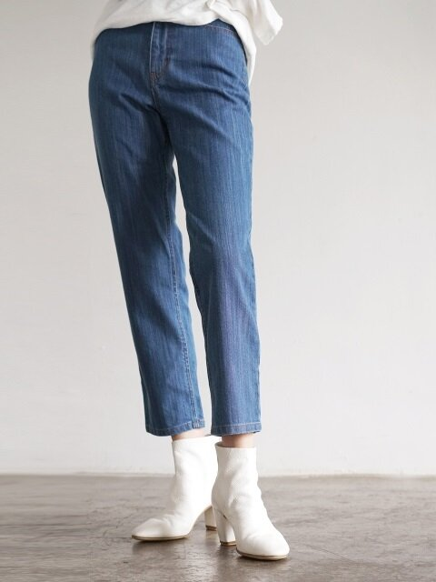Japanese Denim Pants-Indigo Blue