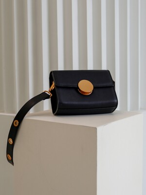 Greta Circle Mini Bag Black