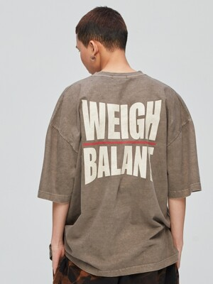 Pigment Weigh in on Issue Tshirt - Brown