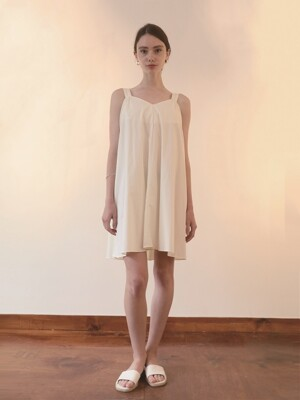 Pure Cotton Sundress/Cream