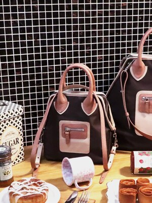 PLAY 3 WAY BAG_Afternoon Tea(Brown)_S