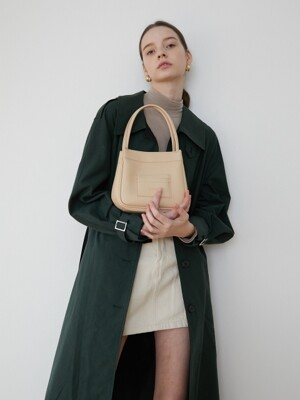 Mini card bucket bag_Beige