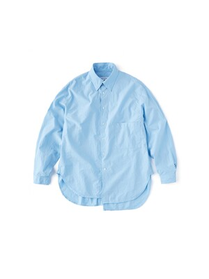 Buddy LS Shirt (Blue Solid)