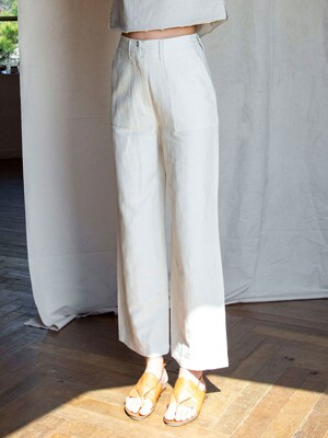 SI PT 7005 Side Banding  Fatigue Pants_Natural
