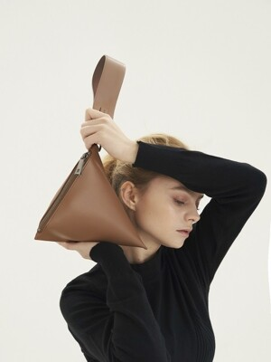 Triangle Bag_Camel