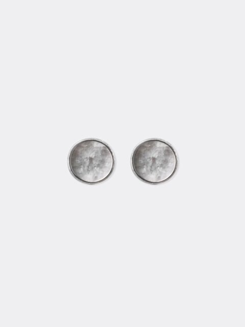 Mother-of-pearl Circle Earring