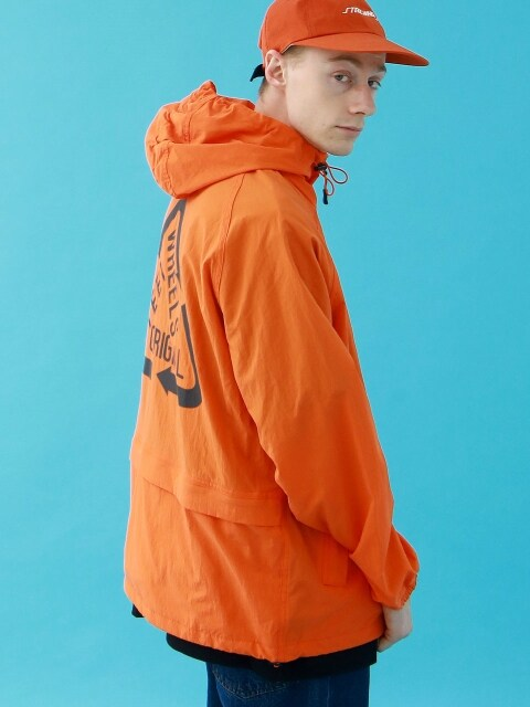 REFLECTIVE NYLON JKT (ORANGE)