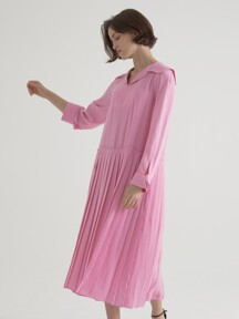 Elly Pleated one-piece - Pink