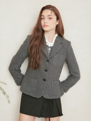 POCKET POINT LONDON JACKET_HERRINGBONE