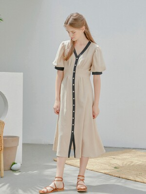 Dolce Cloud Dress_Latte