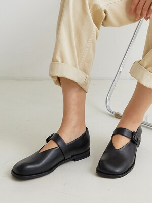 BKB20302 PEBBLE MARYJANE LOAFER_3COLOR